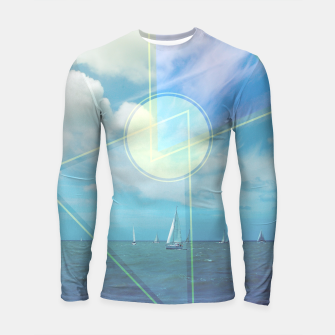 Thumbnail image of The Seas Be Ours Longsleeve Rashguard , Live Heroes