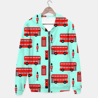 Thumbnail image of Day out in London Hoodie, Live Heroes