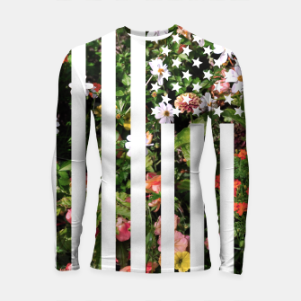 Thumbnail image of Floral USA Flag, Live Heroes