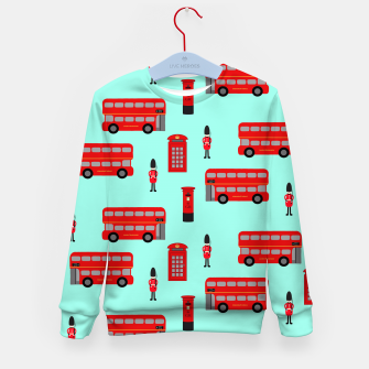Thumbnail image of Day out in London Kid's Sweater, Live Heroes
