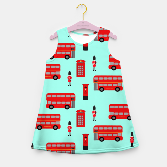 Thumbnail image of Day out in London Girl's Summer Dress, Live Heroes
