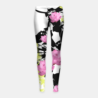 Thumbnail image of SUPREME LOTUS Girl's Leggings, Live Heroes