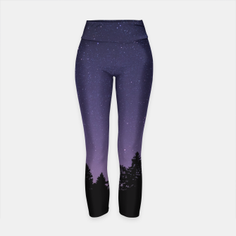 Thumbnail image of Purple Sky Yoga Pants, Live Heroes
