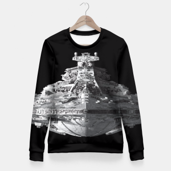 Thumbnail image of Spaceships Star Wars Fitted Waist Sweater, Live Heroes