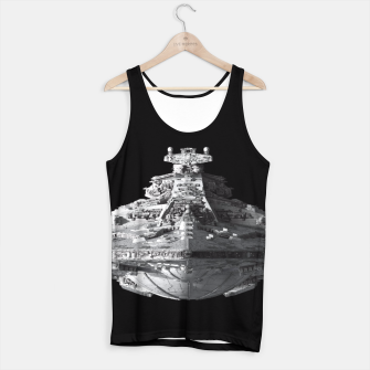 Thumbnail image of Spaceships Star Wars Tank Top, Live Heroes