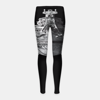 Thumbnail image of Spaceships Star Wars Girl's Leggings, Live Heroes