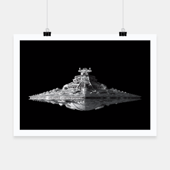 Thumbnail image of Spaceships Star Wars Poster, Live Heroes