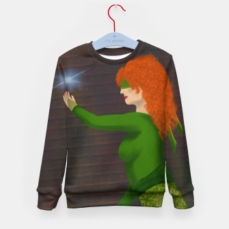 Thumbnail image of Kayla the Sorceress Kid's Sweater, Live Heroes