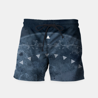 Thumbnail image of Grey Spring Swim Shorts, Live Heroes