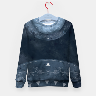 Thumbnail image of Grey Spring Kid's Sweater, Live Heroes
