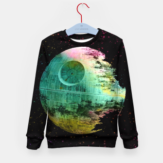 Thumbnail image of Dead Star Star Wars Kid's Sweater, Live Heroes
