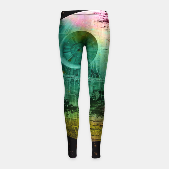 Thumbnail image of Dead Star Star Wars Girl's Leggings, Live Heroes