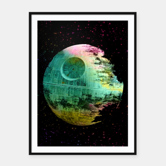 Thumbnail image of Dead Star Star Wars Framed poster, Live Heroes