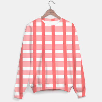 Thumbnail image of checkered Sweater, Live Heroes
