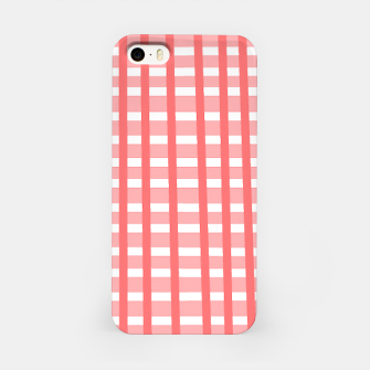 Thumbnail image of checkered iPhone Case, Live Heroes