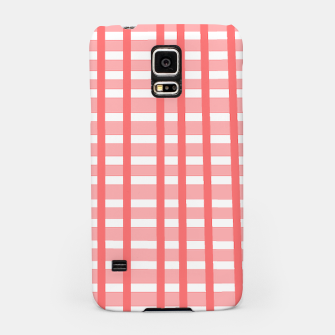 Thumbnail image of checkered Samsung Case, Live Heroes