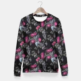 Miniature de image de Watercolor floral print Fitted Waist Sweater, Live Heroes