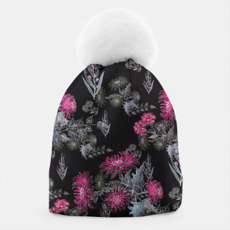 Thumbnail image of Watercolor floral print Beanie, Live Heroes