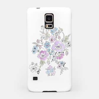 Thumbnail image of Watercolor flowers print Samsung Case, Live Heroes
