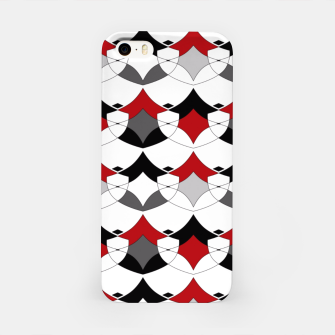 Miniature de image de Abstract seamless geometrical shapes pattern iPhone Case, Live Heroes