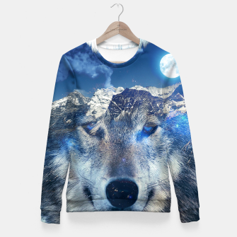 Miniature de image de Mountain Wolf Fitted Waist Sweater, Live Heroes
