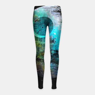 Thumbnail image of Dead Star Girl's Leggings, Live Heroes