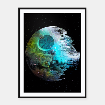 Thumbnail image of Dead Star Framed poster, Live Heroes