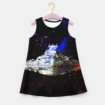 Thumbnail image of Star Wars Spaceships Girl's Summer Dress, Live Heroes