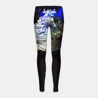 Thumbnail image of Star Wars Spaceships Girl's Leggings, Live Heroes