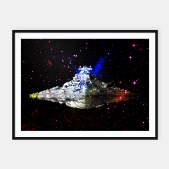 Thumbnail image of Star Wars Spaceships Framed poster, Live Heroes