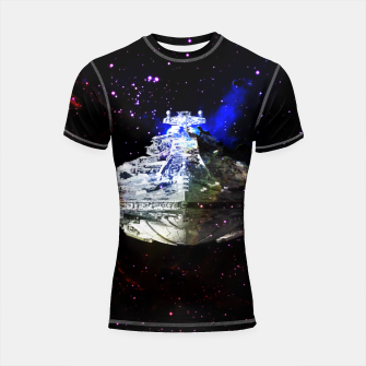Thumbnail image of Star Wars Spaceships Shortsleeve Rashguard, Live Heroes