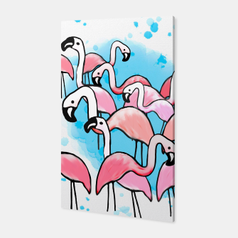 Thumbnail image of Flamingo City Canvas, Live Heroes