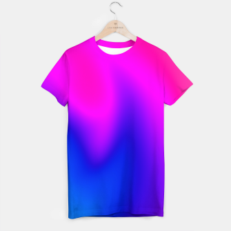 Thumbnail image of Blue Pink Blur T-shirt, Live Heroes