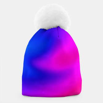 Thumbnail image of Blue Pink Blur Beanie, Live Heroes
