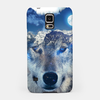 Thumbnail image of Mountain Wolf Samsung Case, Live Heroes