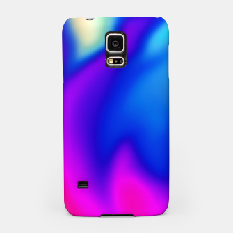 Thumbnail image of Blue Pink Blur Samsung Case, Live Heroes