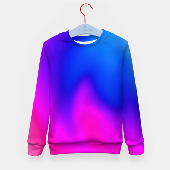Thumbnail image of Blue Pink Blur Kid's Sweater, Live Heroes