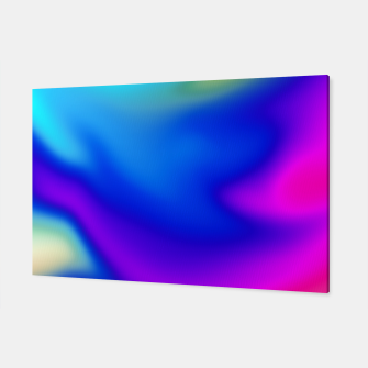 Thumbnail image of Blue Pink Blur Canvas, Live Heroes