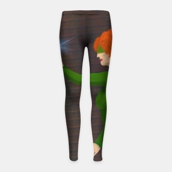 Thumbnail image of Kayla the Sorceress Girl's Leggings, Live Heroes