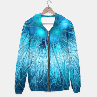 Thumbnail image of Ice crystal frozen Abstracts Hoodie, Live Heroes