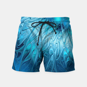 Thumbnail image of Ice crystal frozen Abstracts Swim Shorts, Live Heroes