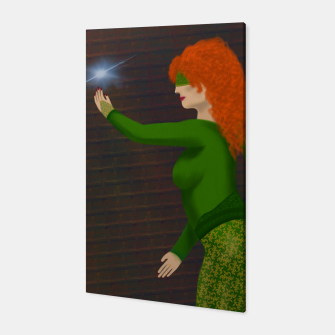 Thumbnail image of Kayla the Sorceress Canvas, Live Heroes