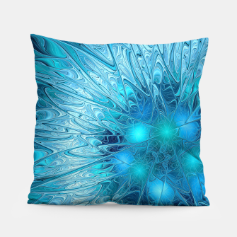 Miniature de image de Ice crystal frozen Abstracts Pillow, Live Heroes