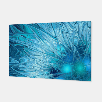 Thumbnail image of Ice crystal frozen Abstracts Canvas, Live Heroes