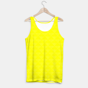 Thumbnail image of Bright juicy lemon color print Tank Top, Live Heroes