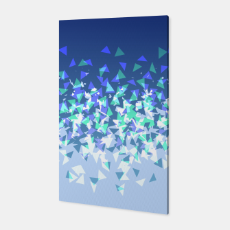Thumbnail image of Blue Disintegrate Canvas, Live Heroes