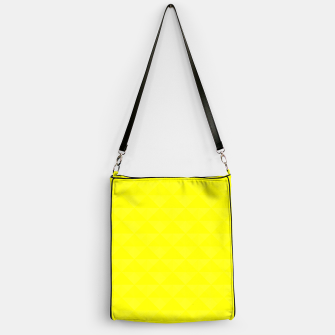 Miniature de image de Bright juicy lemon color print Handbag, Live Heroes