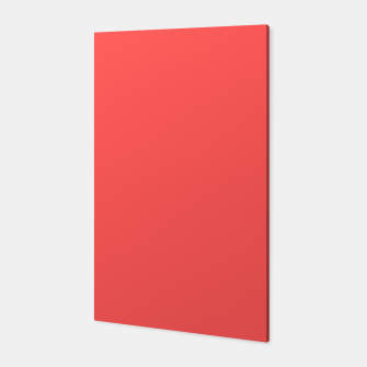 Thumbnail image of Bright coral color print Canvas, Live Heroes