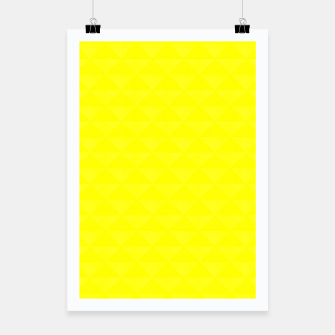 Miniaturka Bright juicy lemon color print Poster, Live Heroes