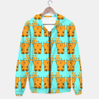Thumbnail image of Cats love Hoodie, Live Heroes